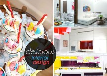 Delicious Interior Design Featuring Candy Colors and Bold Shapes