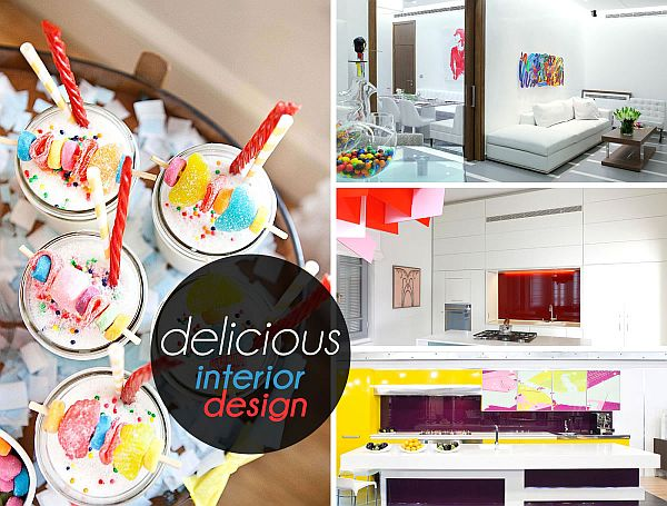 candy inspired interior decor