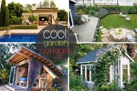 cool garden cottages ideas