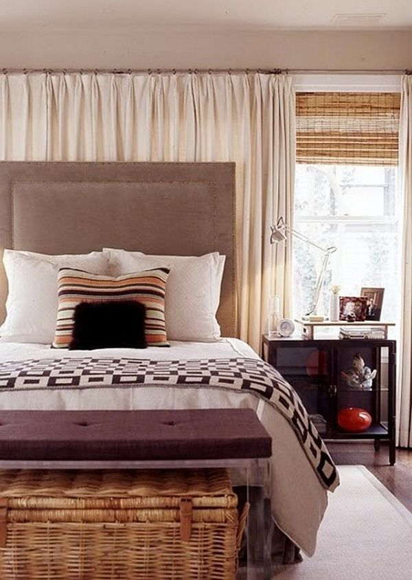 Small bedroom window treatments