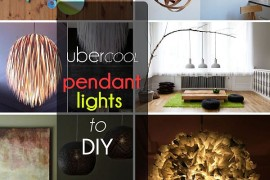 diy pendant lights projects