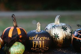 Creative DIY No-Carve Pumpkin Designs for Halloween