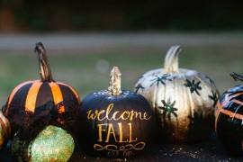 creative diy no carve pumpkin designs for halloween - Halloween Pumpkins Painted
