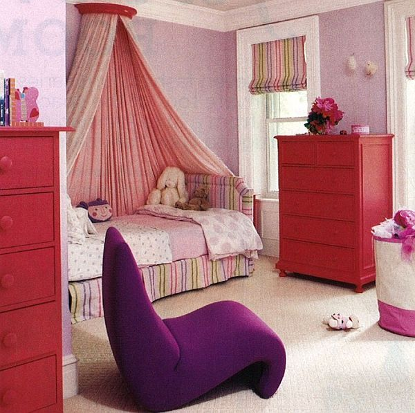 Kids bed canopy with curtain decoist - Ideas for canopy bed curtains ...