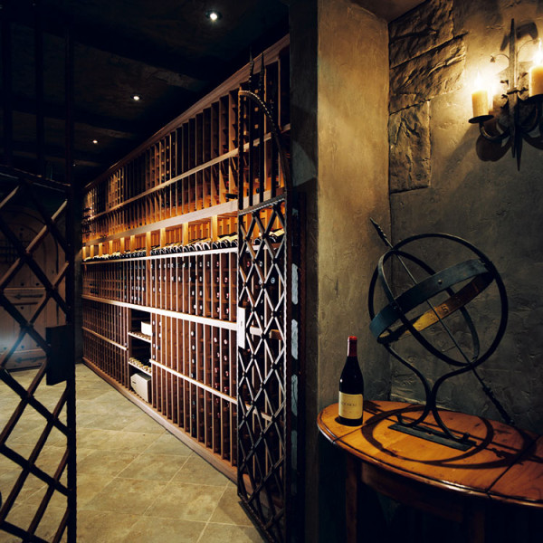 wine cellar for Park Hill Interiors