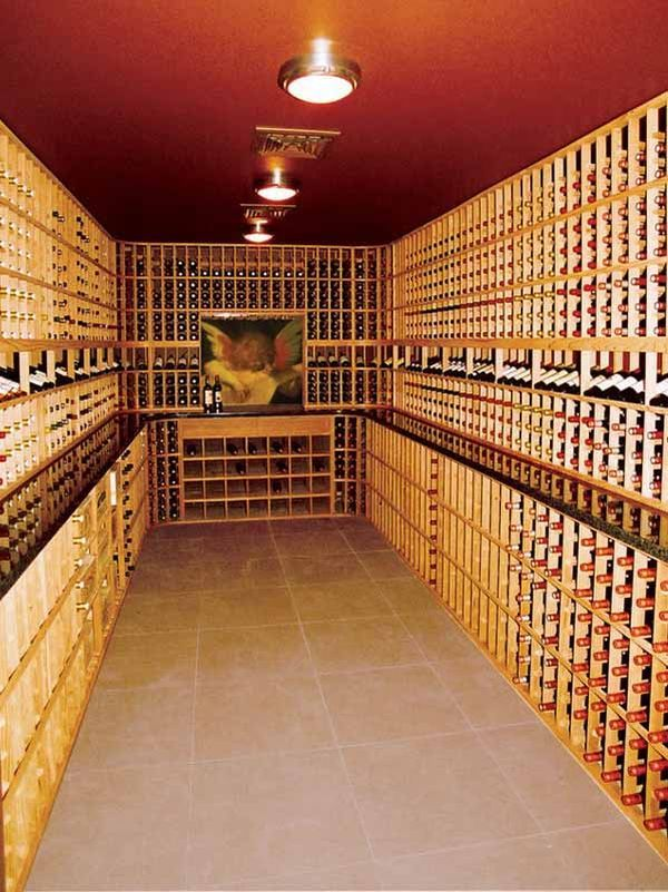 wine cellar in Tiburon california