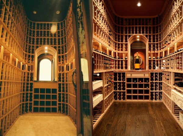 wine cellars in Saratoge and Monte Sereno California