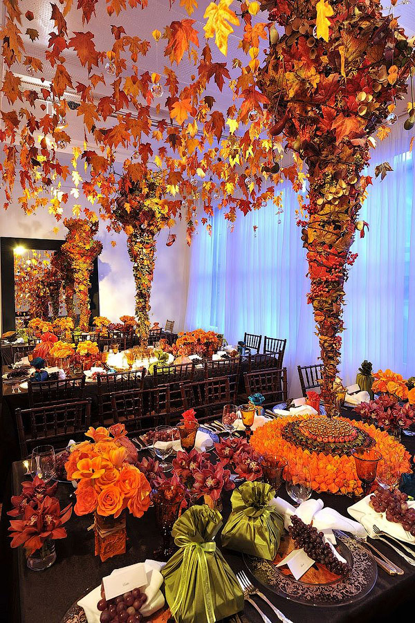 30 natural thanksgiving decor ideas Decorating thanksgiving table