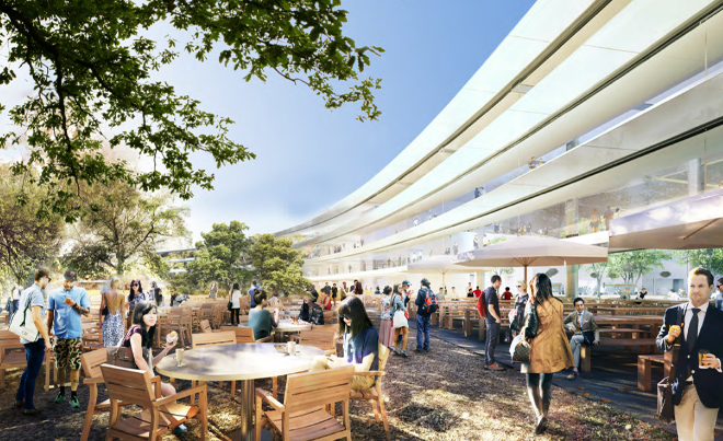 A look inside the future Apple headquarters