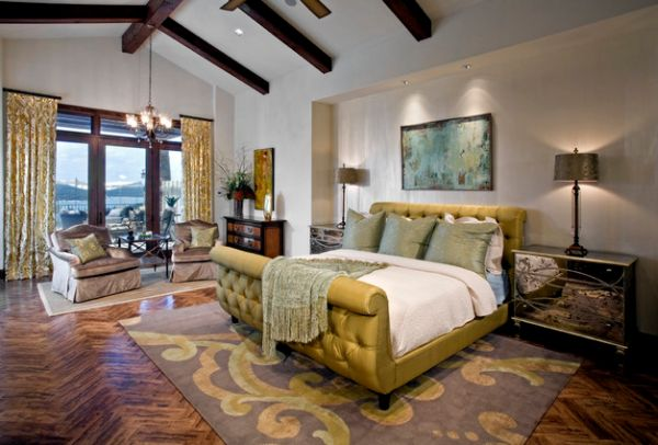 50 sleigh bed inspirations for a cozy modern bedroom for Modern day bedroom designs