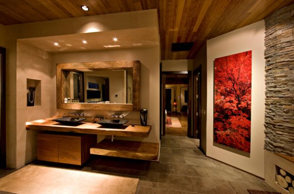 view in gallery add some class to your bathroom as well - Large Wall Design Ideas