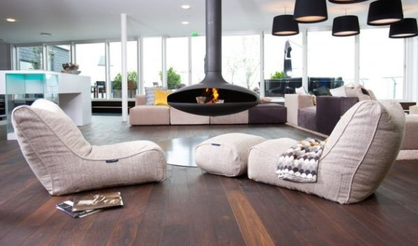 bachelor pad furniture. view in gallery an orb fireplace and bean bag recliner chairs seem like ideal fit for the bachelor pad furniture i