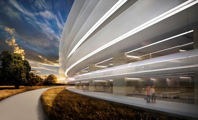Apple new headquarters rendering