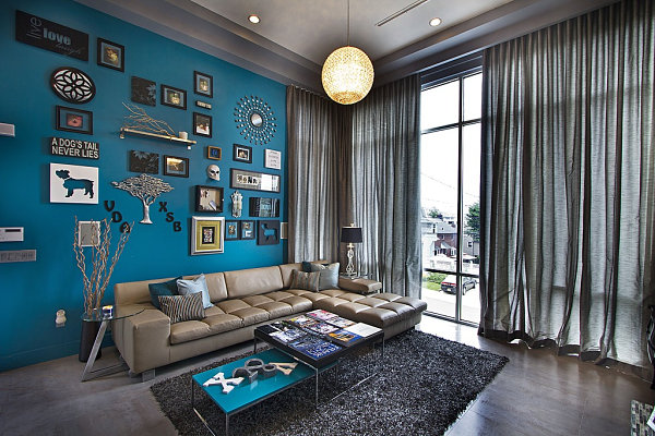 View In Gallery Blue Living Room Part 83