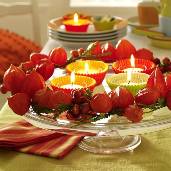 Bright reds bring the Thanksgiving table alive
