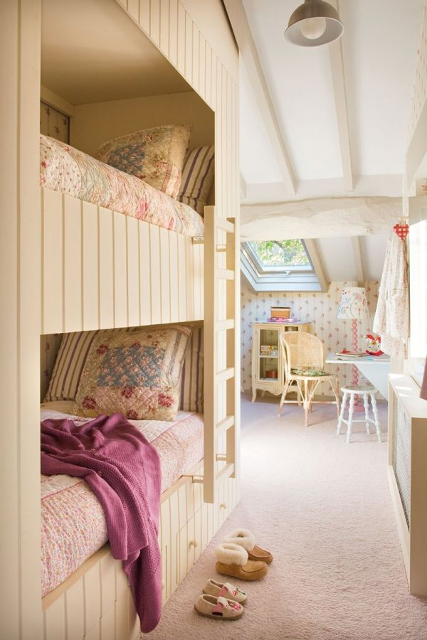 Bunk bed idea for a small bedroom
