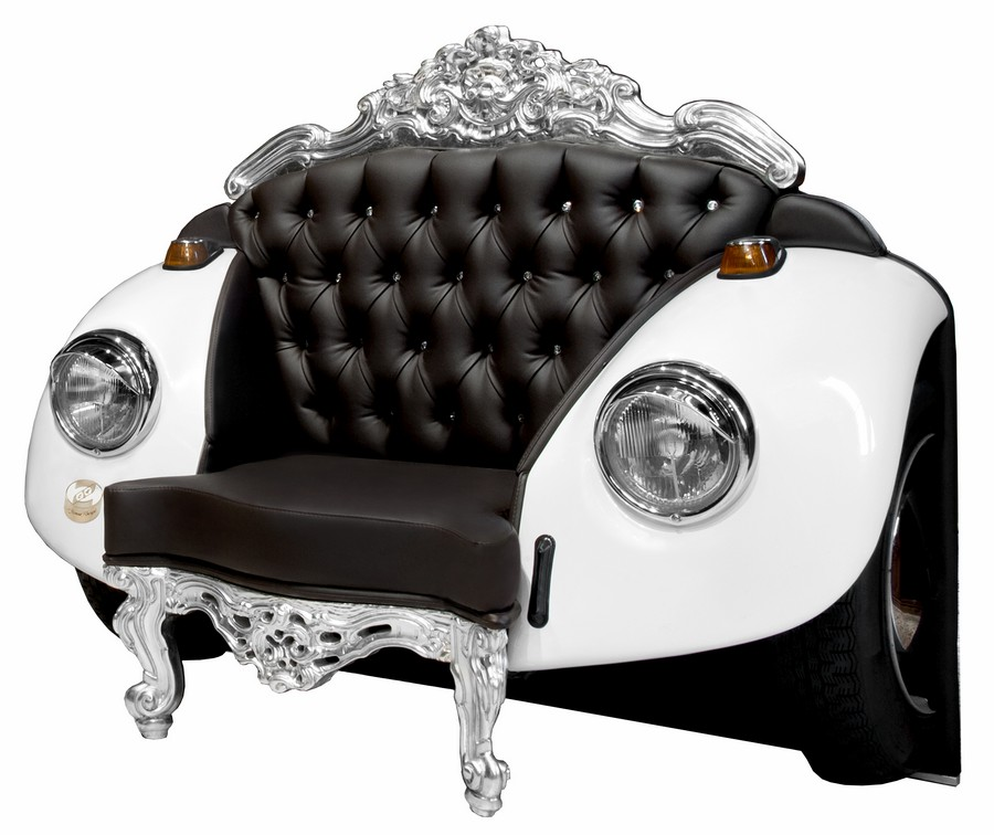 Car art armchair design