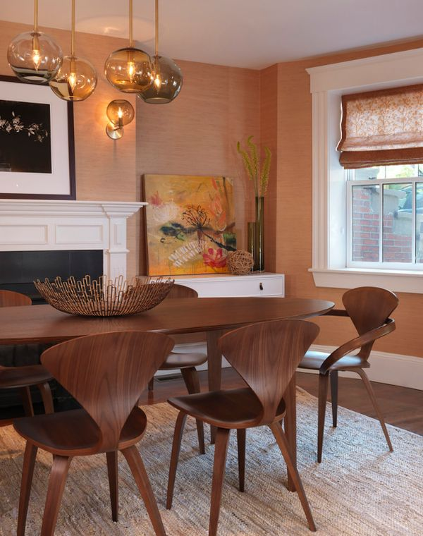 View In Gallery Combination Of Cherner Armchair And Side Chairs At The Dining  Table Part 49