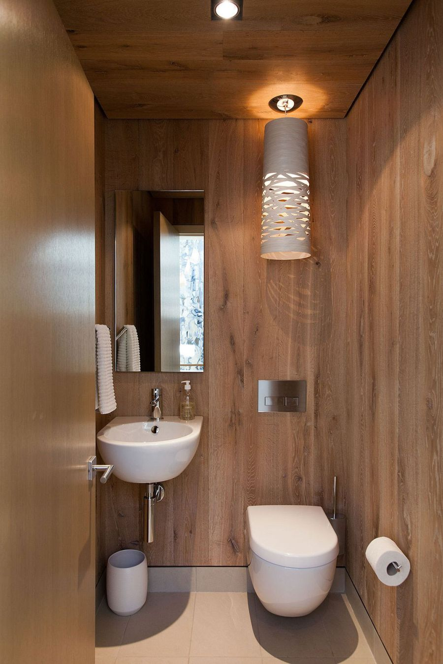 Compact bathroom design idea
