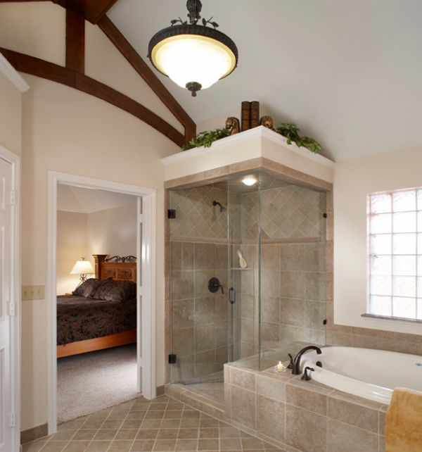 View In Gallery Compact Steam Shower Design Idea