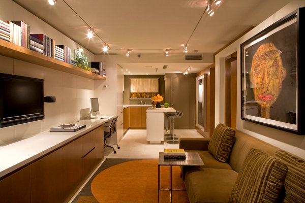 View In Gallery Cozy Basement Apartment