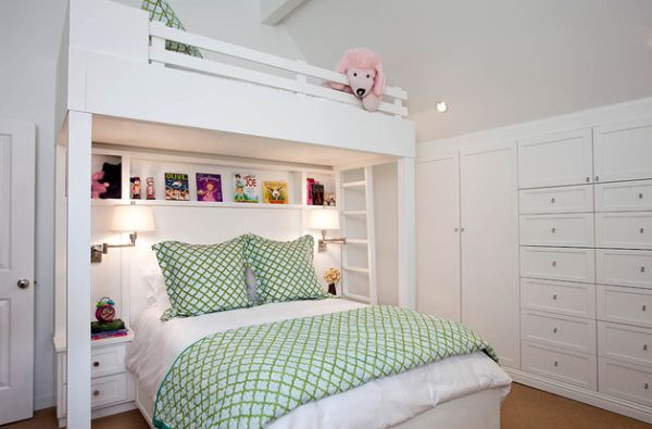 Small condo with loft bed home decorating ideas for Custom bedroom designs