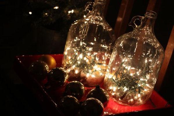 DIY Bottle Lights for Christmas (9)