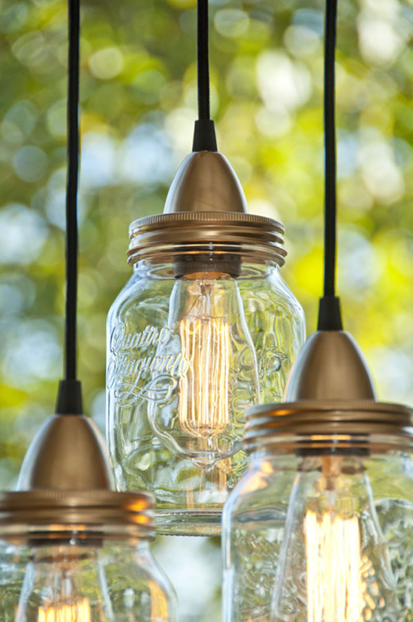 Easy Low-Budget DIY Project For Bright Evenings: Jar Lamp