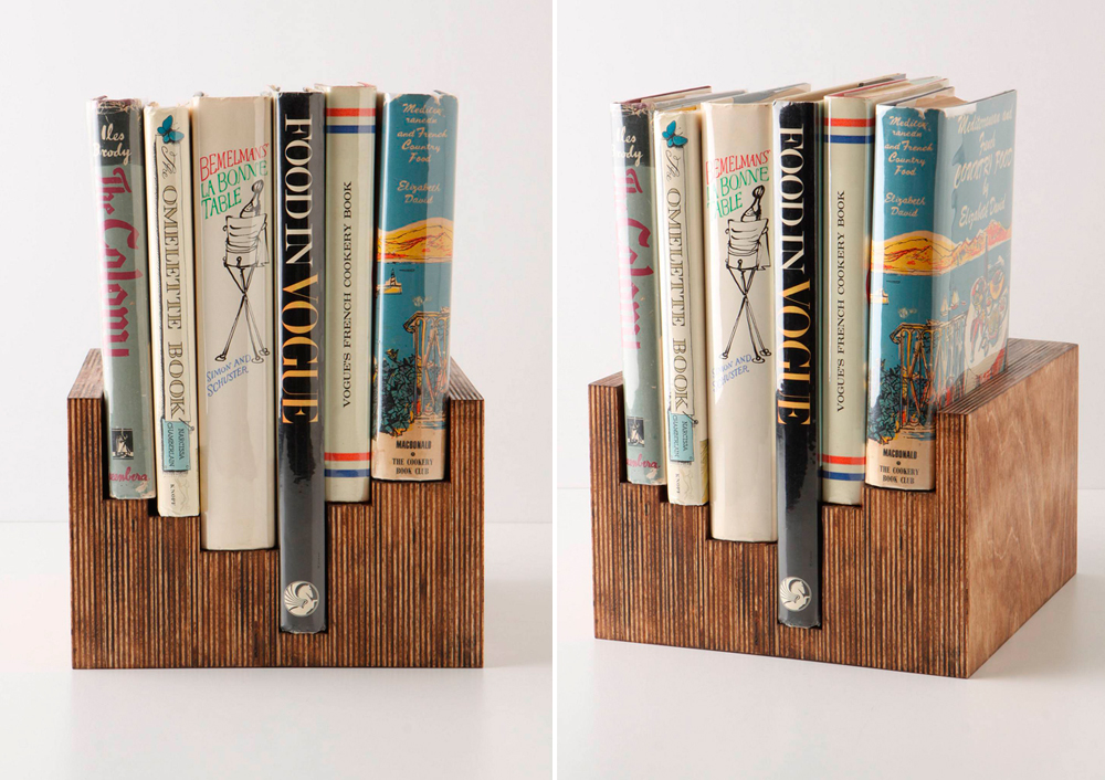 DIY plywood anthro bookcase idea