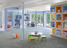 Dedicated-home-gym-allows-you-to-watch-over-the-kids-in-the-playroom-217x155