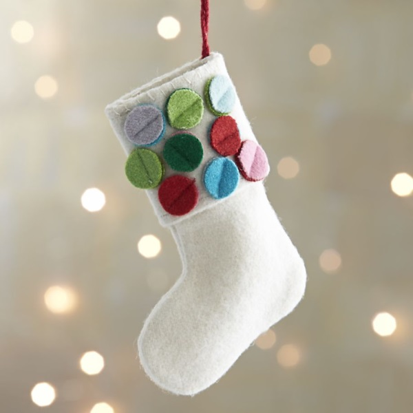 Attractive Felt Craft Ideas For Christmas Part - 9: 20 Felt Christmas Ornaments For A Festive Tree