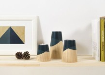 Elegant ETNA Wood Candle Holders Inspired By Fiery Volcanoes!