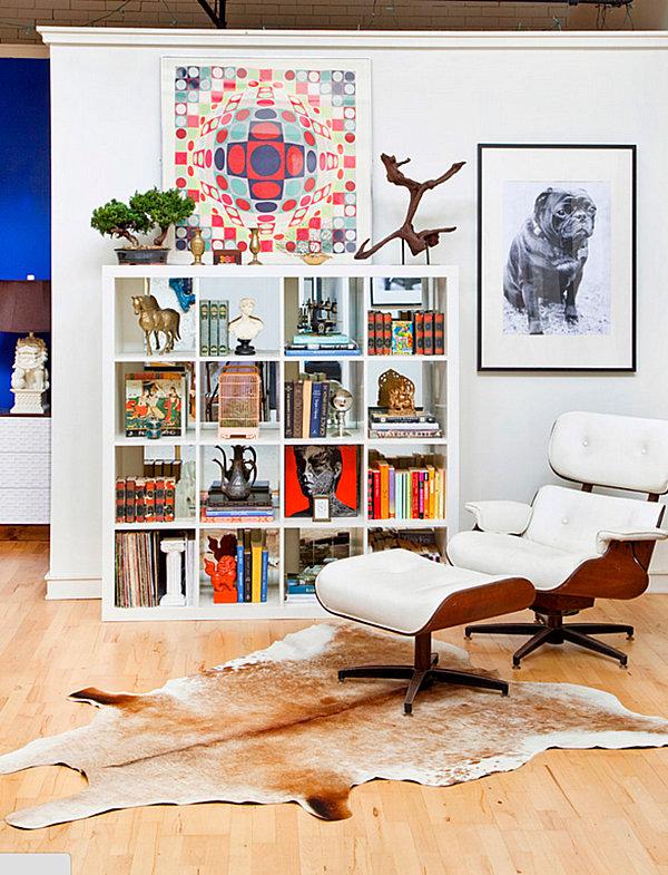 Eclectic loft space