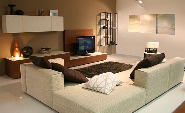 70 bachelor pad living room ideas - Deco lounge tv ...
