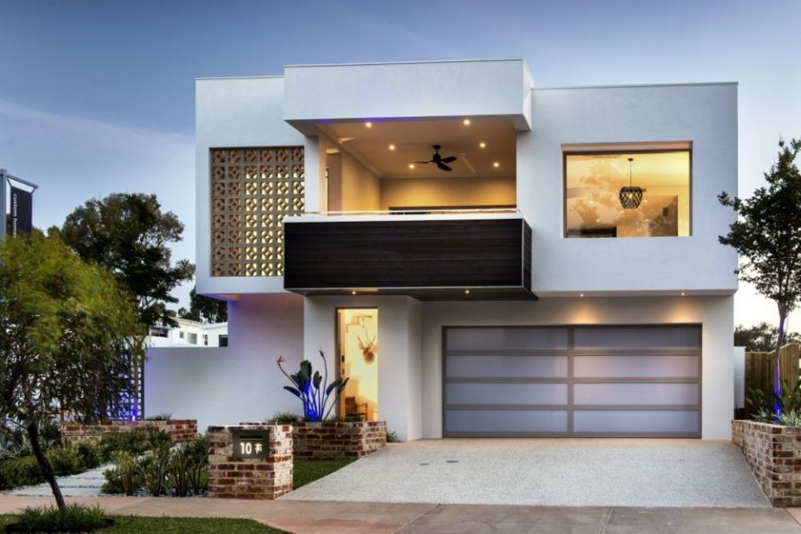 Luxurious empire house embraces modernist style with a for Modern house designs australia