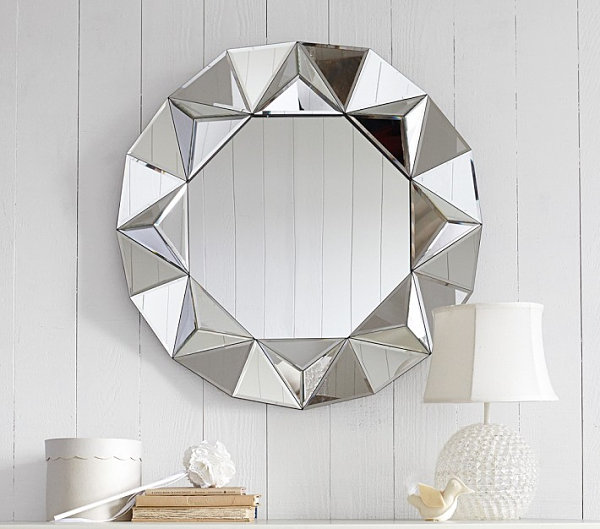 View in gallery Faceted mirror for a girl s room. 12 Cool Room Ideas For Girls
