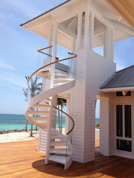 15 Spiral Staircases That Pave The Way To Cloud Nine - Curvy-spiral-house-design