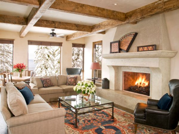Winter Living Room: Beat The Chill: 10 Tips For Cozy Winter Interiors