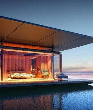 Floating House by Dymitr Malcew for H2ORIZON