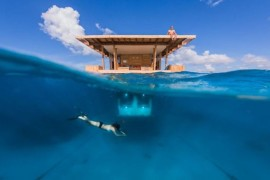 Floating Underwater Hotel Room In Zanzibar Promises A Magical Adventure!