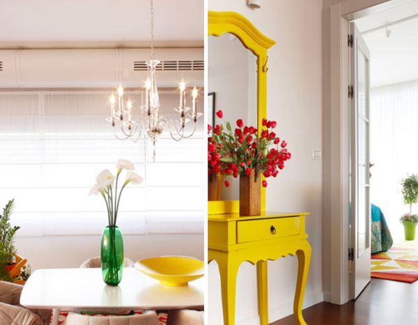 Flowers are an integral part of the brilliant home