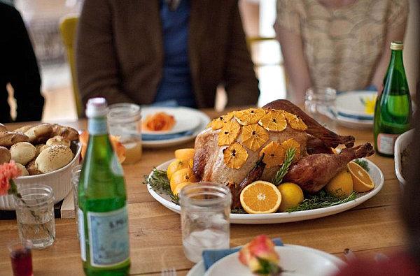 Friendsgiving turkey