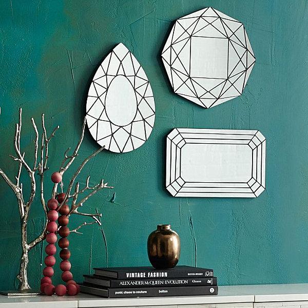 Gem-style mirrors