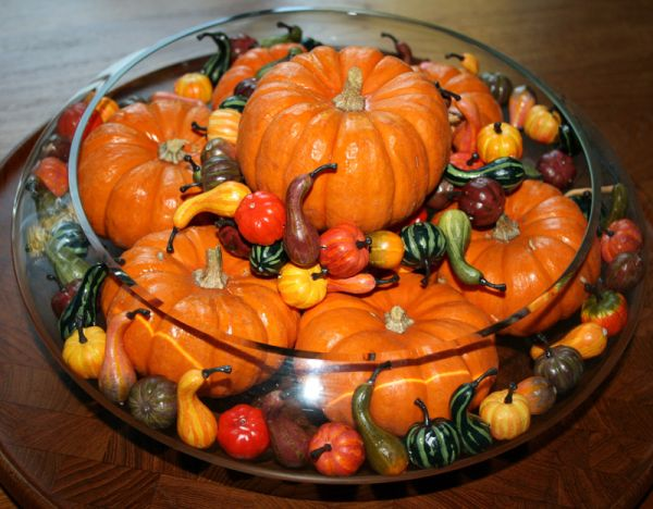 Grab some fresh fruits and vegetables along with a few pumpkins