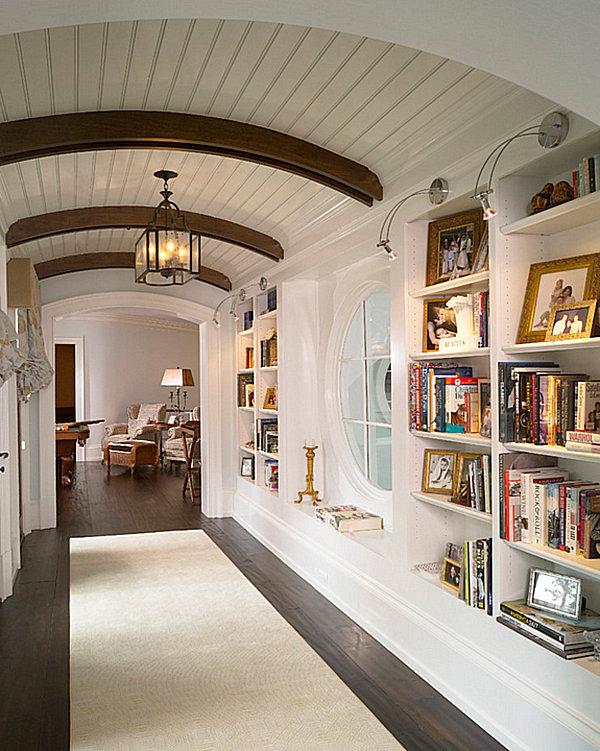Hallway shelving