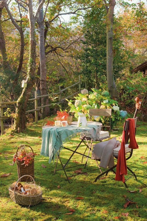 Have a lovely cup of tea under some green shade!