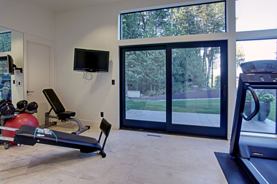 Home gym idea