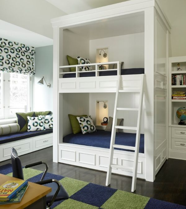 How about a bunk bed tower in the bedroom