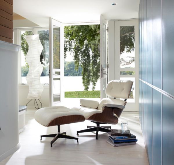 Iconic Noguchi creation along with the Eames Lounger