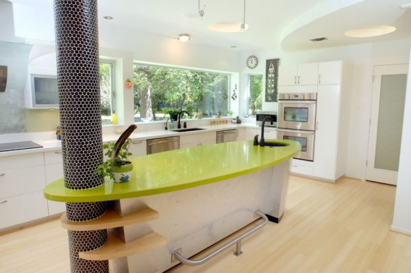 Innovative kitchen island design